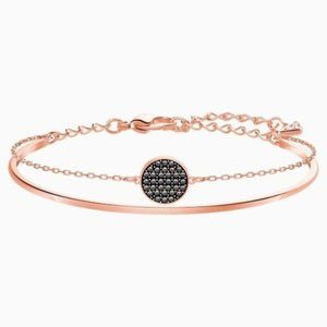 Swarovski Ginger Bangle, Rose-gold